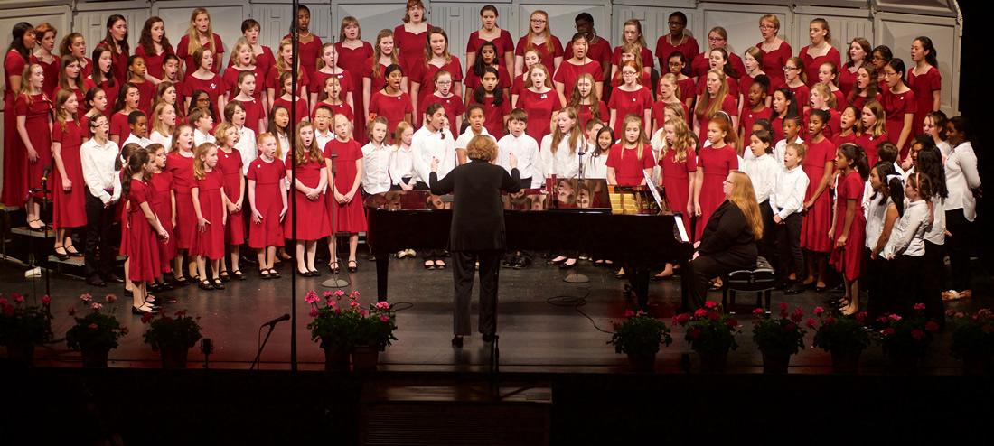 Photo of CCGC Girls Singing